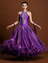 High-quality Spandex and Tulle with Rhinestones Performance Dresses for Women's Performance (More Colors)