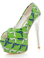 Women's Shoes PU Stiletto Heel Heels / Peep Toe / Platform Sandals Party & Evening / Dress / Casual