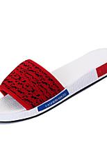 Zapatos de Hombre-Pantuflas-Casual-Tul-Negro / Azul / Rojo / Gris