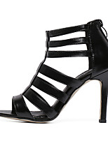 Women's Shoes Leatherette Stiletto Heel Heels / Boat / Basic Pump / Comfort / Novelty Sandals / Heels / Boots /