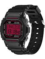 orologio sportivo Da uomo Resistente all'acqua / Velocimetro / Cronometro / Nottilucente Quarzo giapponese Digitale braccialetto