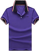 2016 new summer short sleeved T-shirt Lapel shirt Polo male business casual men's jacket half sleeve T-shirt tide