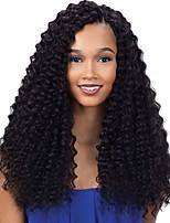 8-24 Inch Heavy Density Jerry Curly Brazilian Virgin Human Hair Full/Lace front Wig For Black Women
