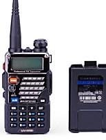 BAOFENG UV-5RB Rádio de Comunicação 5W/1W 128 136 - 174 MHz / 400-520MHz 1800mAh 1,5 - 3 kmRádio FM / Comando por Voz / Dual Band / Dual