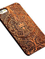 Para Funda iPhone 6 Funda iPhone 6 Plus Carcasa Funda Diseños Cubierta Trasera Funda Fibra de Madera Dura Madera paraiPhone 7 Plus iPhone