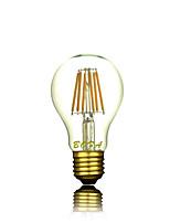 Ampoules Globe LED Gradable / Décorative Blanc Chaud NO 1 pièce A60(A19) E26 / E26/E27 3W 3 COB 200-300 lm AC 100-240 V
