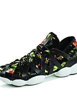 Scarpe Sneakers Da uomo Tulle Nero / Verde / Grigio