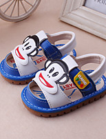 Baby Shoes Dress / Casual Leather Fashion Sneakers Blue / Red