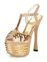 Women's Shoes Synthetic / Pointed Toe Sandals / Heels / LoafersWedding / Office & Career / Work & Duty