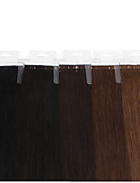 Neitsi 100% Human Hair Tape In Hair Extensions PU Skin Weft Hair Straight