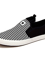 Men's Shoes Athletic Tulle Fashion Sneakers Black / Blue