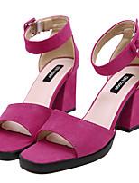 Chaussures Femme-Mariage / Bureau & Travail / Habillé / Décontracté / Soirée & Evénement-Noir / Rouge / Gris-Gros Talon-Talons / Confort