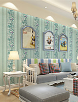 PALUTON Trees/Leaves Wallpaper Luxury Wall Covering,Non-woven Paper European High-end Leaves