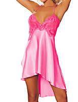 Women Chemises & Gowns Nightwear,Lace / Spandex