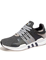 Men's Sneakers Spring / Summer / Fall / Winter Fashion Tulle Office & Career / Athletic / Casual Flat Heel Lace-up