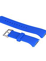 caoutchouc silicone dragonne remplacement bracelet pour samsung R720 watch engrenage s2 (de large12.8cm + 7.2cm)