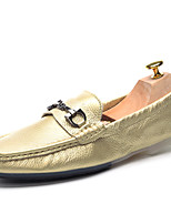 Men's Shoes Wedding / Office & Career / Party & Evening Nappa Leather Loafers Black / Blue / White / Gold