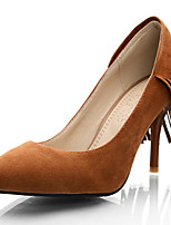 Women's Shoes Stiletto Heel/Pointed Toe Heels Party & Evening/Dress Black/Brown/Red/Almond