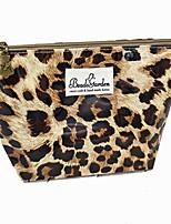 Women PU Casual Cosmetic Bag-Animal Print 26*14.5*6