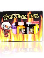 High Quality Scream Tattoo Inks Pigment 10 Colors 15ml Kit