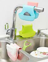 Silicone Sink Grid Storage Basket Hanging Basket Drop Kitchen Bathroom Toilet Carrying Baskets