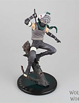 Naruto Hatake Kakashi PVC One Size Figures Anime Action Jouets modèle Doll Toy