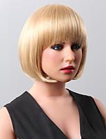 sin tapa de onda corta súper cuerpo destaca pelucas de pelo humano 9 para elegir