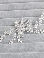 Dame Krystall Headpiece Bryllup / Spesiell Leilighet / Avslappet / Kontor & Karriere / Utendørs HårkammerBryllup / Spesiell Leilighet /