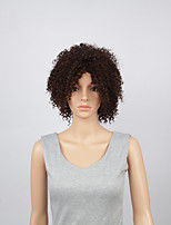 Fashion Synthetic Wigs Lace Front Wigs 10inch Kinky Curly  Black Heat Resistant Hair Wigs Wome