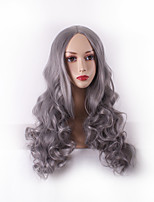 Women Long Deep Wave Synthetic Hair Wig