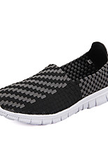 Men's Outdoor Casual PU Loafers Slip-on Breathable Running Sneakers Black / Blue / Brown / Khaki