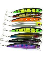 New Minnow 8pcs Hengjia Minnow Baits 93mm 10.4g Fishing Lures Random Colors