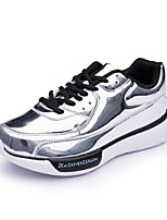 Women's Fashion Patent Leather Shoes Comfort Breathable Creepers Sneakers Outdoor Fashion Flats For Women