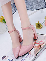 Women's Shoes  Chunky Heel Heels Heels Party & Evening / Dress Black / Pink / Gray