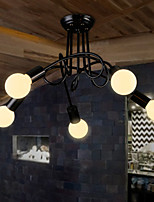 Retro Industrial Loft Nordic Pipe Iron Ceiling Light Loft Lustre Lamps for Home Decor Restaurant Dinning Room
