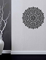 9482 Indian Namaste Words Religion Wall Decal Vinyl Lotus Yoga Sticker Buddha Ganesha Home Decor Bedroom Flower Mural
