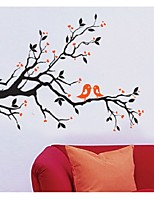 Tree Branch Birds Diy Wall Sticker Adesivo De Parede Wall Stickers Decal Mural Home Decoration