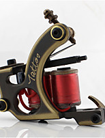 Coil Tattoo Machine Professiona Tattoo Machines Copper Shader Hand-polished