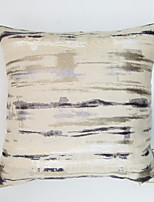 Colorful Stripe Jacquard  Cushion Cover-Blue