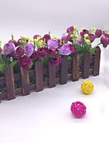 30cm High Quality Artificial Flower Roses  Stockade Artificial Flower Emboitement
