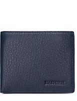 Bi-fold (due scomparti)-Pochette / Portafoglio-Uomo-Vacchetta-Blu