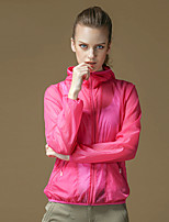 Sports Slim Coat Female Sunscreen Clothing Unlined