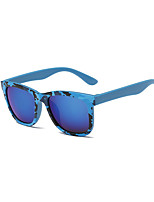 Classic Modern Fashion Unisex's Full-Rim Oversized Coating Casual 100% UV400 Sunglasses(Assorted Color)