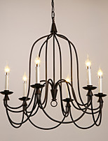 Retro Classic Black Metal Ceiling Lights, Living room Bedroom Dining Room  Kitchen Bar Cafe Hallway Balcony Pendant Lamp