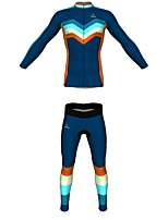 MYKING Men's or Women's   Cycling Bike Long Sleeve Clothing Set Bicycle Wear Suit Jersey and Shorts