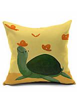 2016 New Arrival  Cotton/Linen Pillow Cover , Nature Modern/Contemporary  Pillow Linen Cushion989