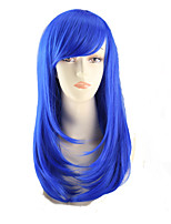 COS Color Cartoon Wig Pear Flower Has A Long Roll of Blue Wig Europe And The United States Sell Like Hot Cakes