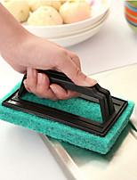 Kitchen Handles Sponge Cleaning Brush The Bath Brush Random color