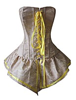 Serre Taille / Corset / Robes Corset / Grande Taille Lacet Nylon / Polyester Femme