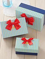 Boîtes Cadeaux(Bleu ciel,Papier durci)Thème classique- pourMariage / Commémoration / Fête prénuptiale / Fête de naissance / Bonbon seize
